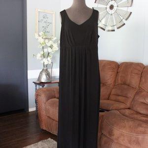 Elementz Sleeveless Black Maxi Dress Size 1X